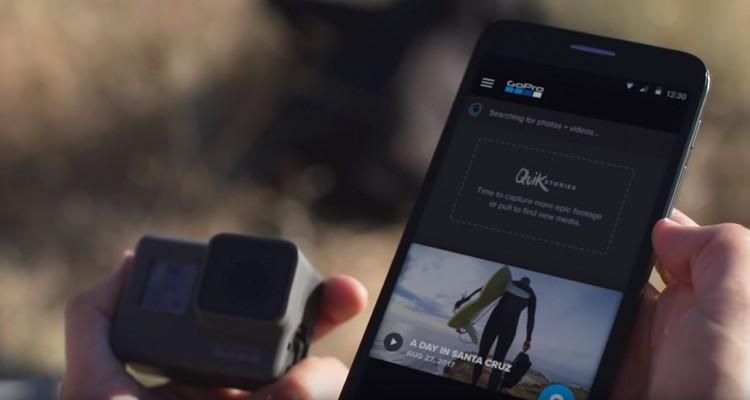 GoProの動画をスマホですぐ編集!新たなアプリ「QuikStories」が登場!