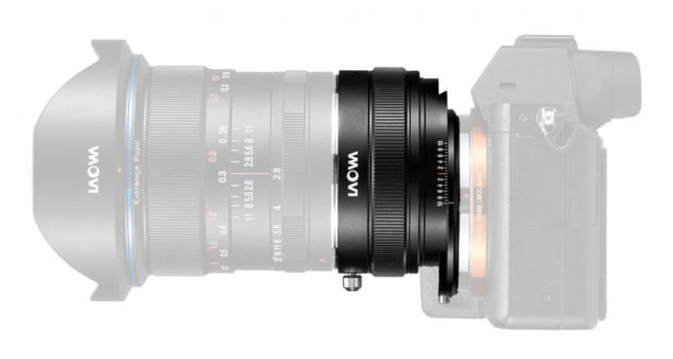 Laowaが同社のレンズ「12mm f/2.8 Zero-D」をシフトレンズに変身させるアダプター「Magic Shift Converter」を発表!
