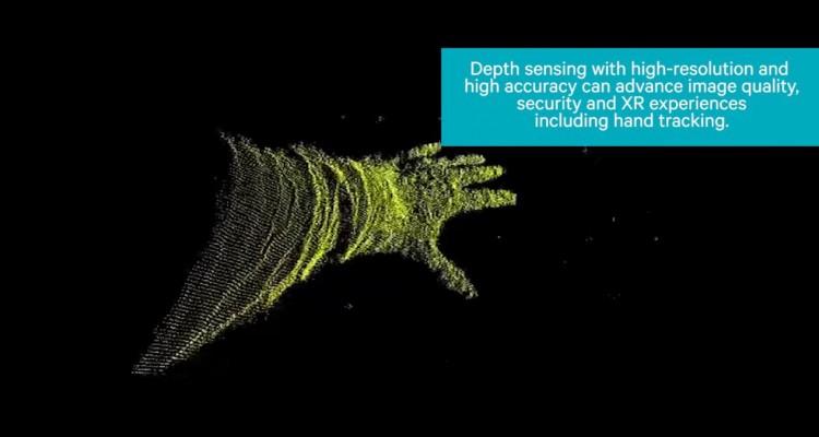 指先までしっかり認識する深度センサー!Qualcommのイメージプロセッサー「Spectra」が凄い!