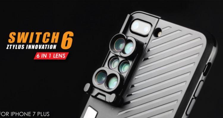 用途によって切り替え!ZtylusのiPhone 7 Plus用レンズ「Switch 6」!