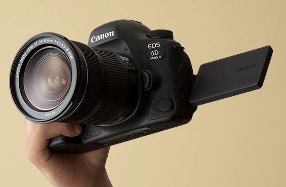 期間内に登録で色々貰える!CanonがEOS 6D Mark II「Live!フルサイズキャンペーン」を実施!