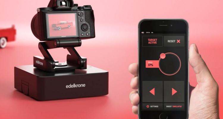 レール要らず!自走するカメラ台!edelkroneの小型ドリー「SurfaceONE 」!
