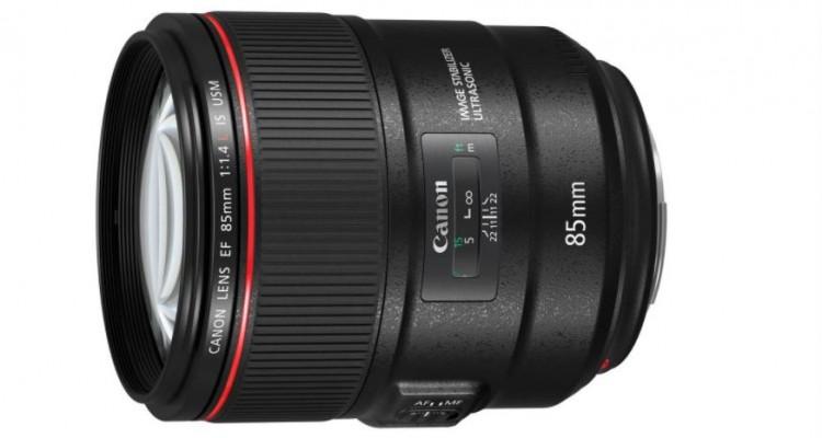手ブレ補正有りの85mm!Canonから大口径中望遠単焦点レンズ「EF85mm F1.4L IS USM」が登場!