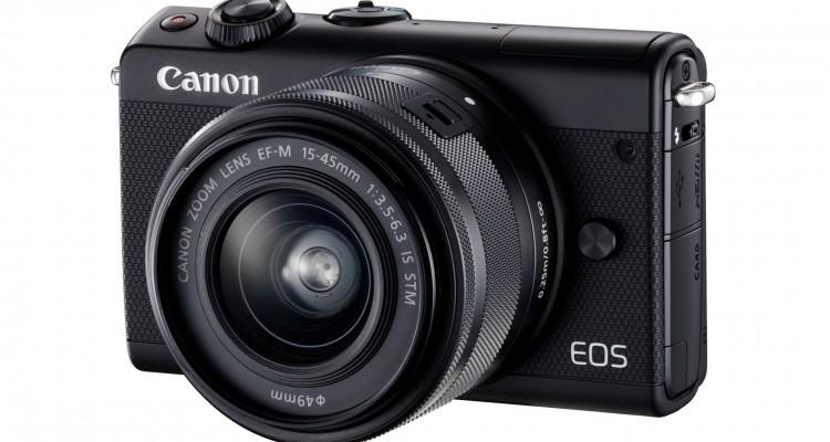 おしゃれに使えてしかも本格的!Canonからレンズ交換式ミラーレスカメラ「EOS M100」が登場!