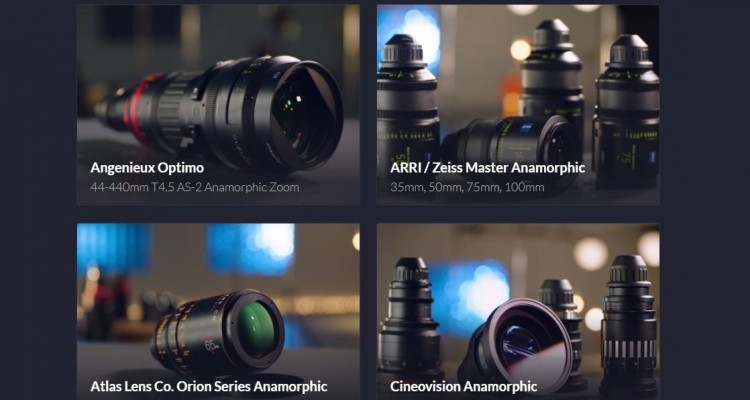 多数のアナモルフィックレンズを比較できるサイト「The Ultimate Anamorphic Lens Test」!