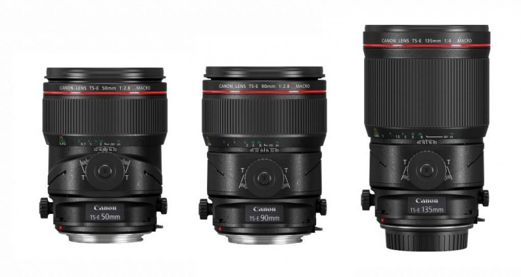 マクロ撮影も可能!Canonがシフト・ティルトレンズ「TS-E」シリーズに3機種追加!