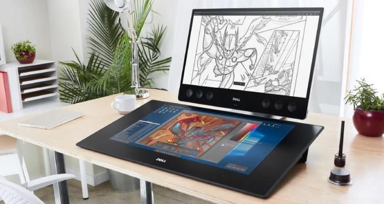 27インチの大画面!Dellの液晶ペンタブレット「Dell Canvas」国内発売!