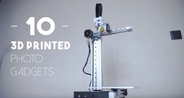 データ公開中!3Dプリンターで撮影道具を自作する動画!
