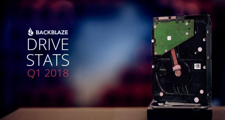 一番故障率の低かったHDDは!?Backblazeの2018年1月~3月HDD故障率レポート!