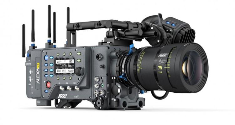 4.5K対応のシネマカメラ、ARRI「ALEXA LF」とラージセンサーに最適化した新マウントのレンズが登場