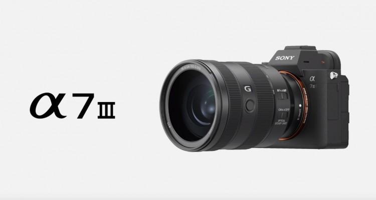 4K/Log収録できる!SONYのミラーレスカメラ「α7 III」!
