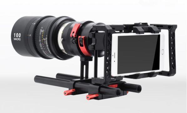 大型の交換レンズも使えるようになる!スマホ用リグ「Beastgrip Pro」シリーズ!
