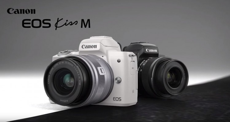 ミラーレス初のEOS Kiss!Canonのミラーレスカメラ「EOS Kiss M」!