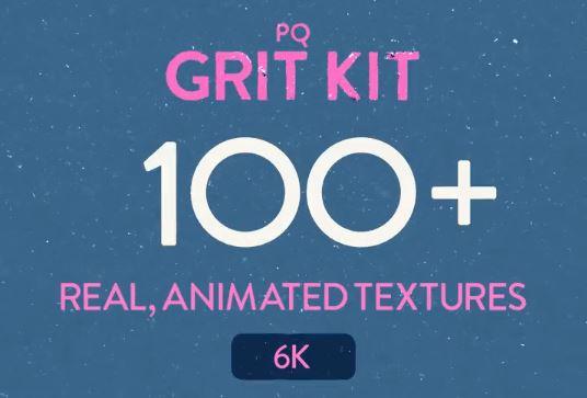 様々な場面で使えるノイズ・グリットテクスチャー素材「PQ Grit Kit」!