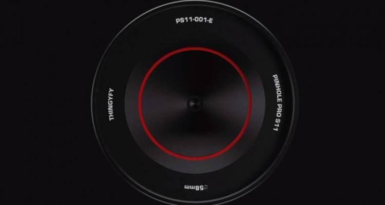 ピンホールレンズの原理で撮影する交換レンズ「Pinhole Pro S」