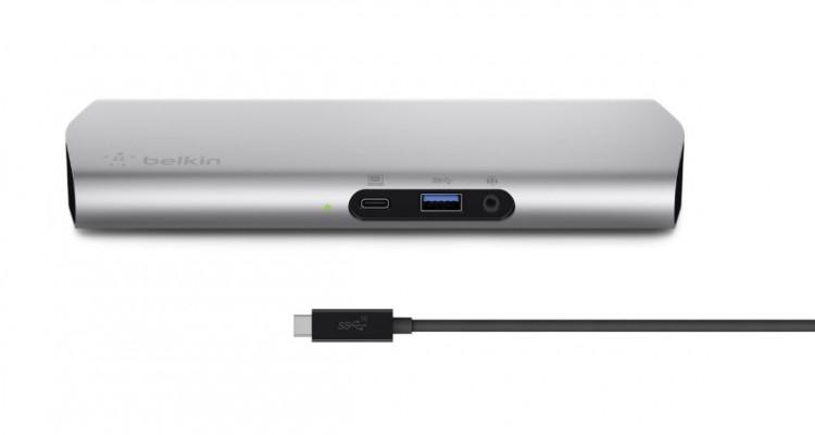 これ一つであらゆるデバイスを接続!MacBookなどUSB-C搭載機用の拡張ポート「USB-C Express Dock 3.1 HD」!