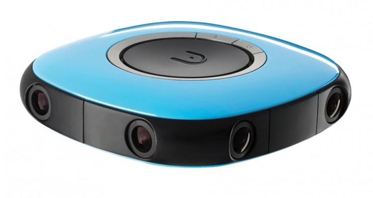手軽な操作と可愛い見た目の4K 360°カメラ「Vuze VR Camera」