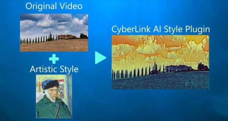 AIが絵画調に変換!サイバーリンクからPowerDirector16用プラグイン「AIスタイルプラグイン」が登場!