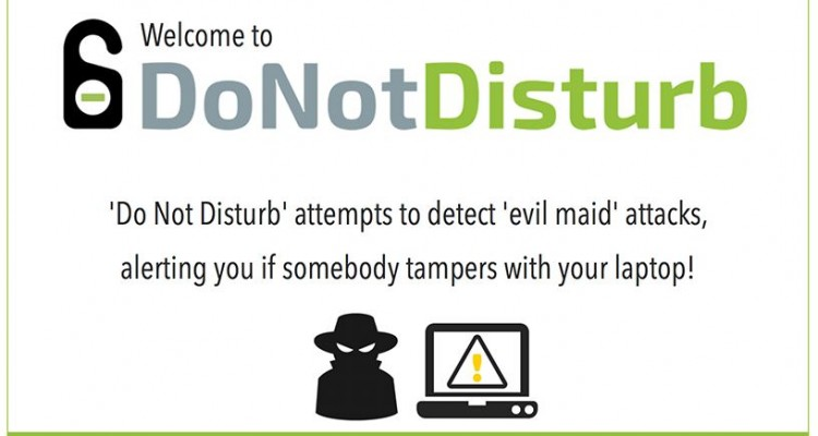 Macbookを開くと使用者を撮影・スマホへ通知。Mac用セキュリティアプリ「Do Not Disturb」!