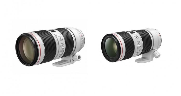 Canonがプロ・ハイアマチュア向けの70-200mmレンズ2機種を発売!