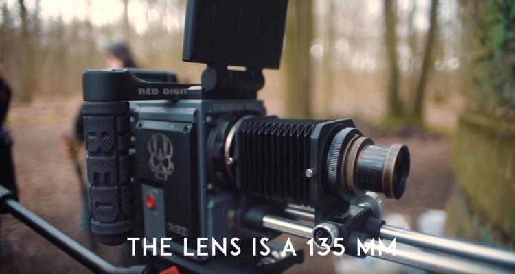 シネマカメラ、REDにヴィンテージレンズを付けて撮影してみた動画!