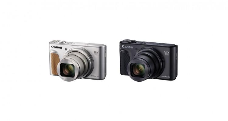 光学40倍ズーム!Canonからコンパクトデジタルカメラ「PowerShot SX740 HS」登場!