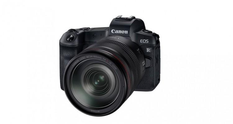 4K動画も!Canon初の35mmフルサイズセンサー搭載ミラーレスカメラ「EOS R」10月25日発売!