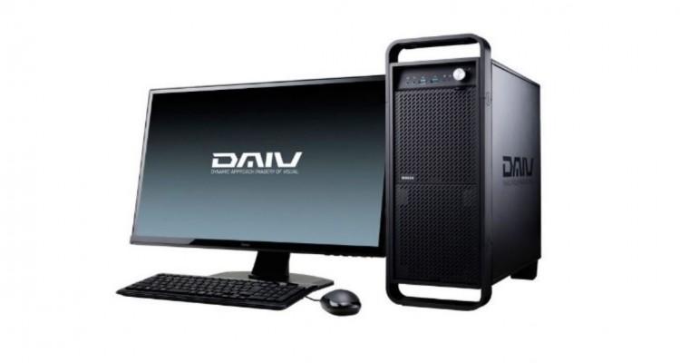 クリエイターPCブランド「DAIV」から、最新GPUのGeForce RTX 2080搭載製品が登場!