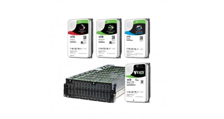 デスクトップ用・NAS用・サーバー用などSeagateから14TBのHDDが5種類登場!