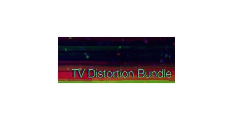 セットだから50%以上お得!After Effects・Premiere Pro用プラグインバンドル「TV Distortion Bundle」!